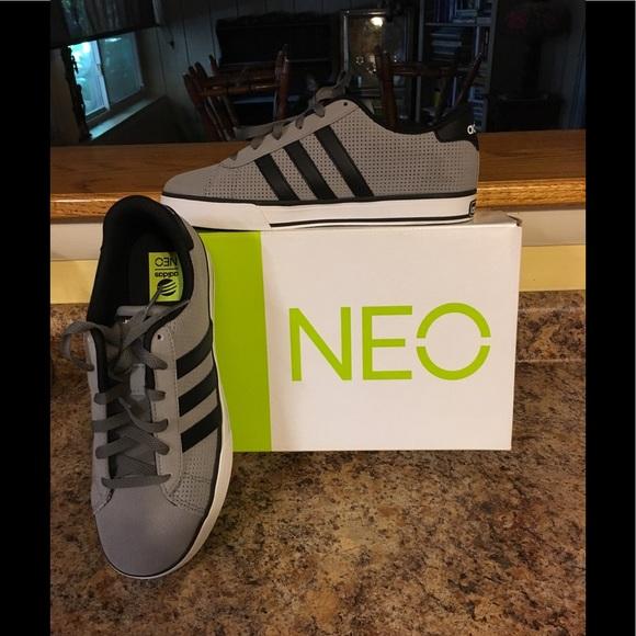 NIB Men's Adidas Neo Ortholite Insole Sneakers Sz8